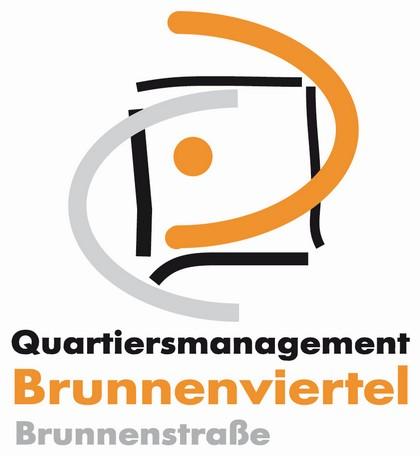 QM Brunnenviertel Brunnenstraße Logo