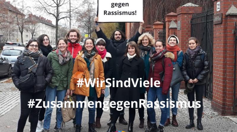 Centre Francais de Berlin gegen Rassismus, 21.3.2020